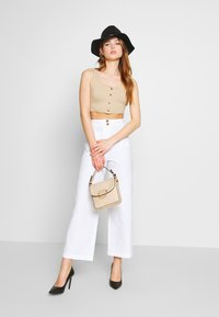 Fashion Union - WISTER TROUSERS - Trousers - cream - 1
