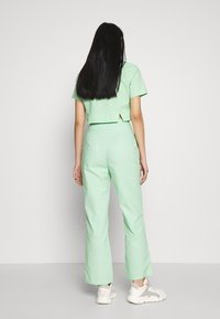 Fashion Union - FRESH TROUSERS - Kangashousut - neo mint - 2