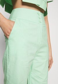 Fashion Union - FRESH TROUSERS - Kangashousut - neo mint - 5