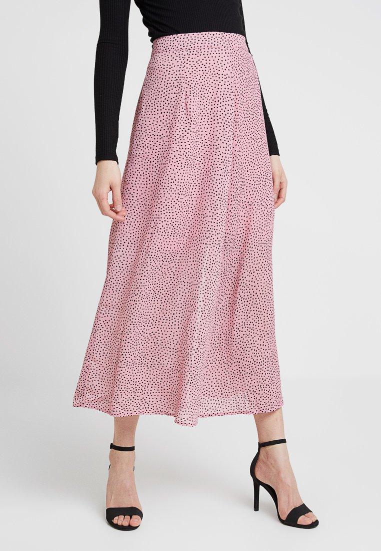 Fashion Union - WELLY - Áčková sukně - pale pink