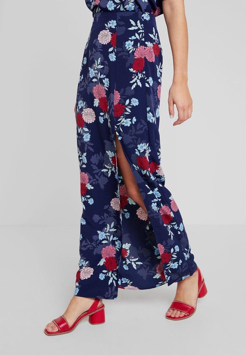 Fashion Union - EXCLUSIVE RUMBLE - Falda larga - dark blue