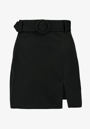 SMITH - A-linjekjol - black