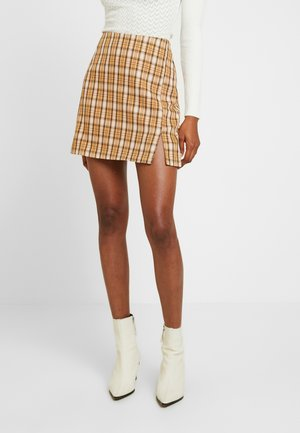 CLUELESS SKIRT - Jupe trapèze - yellow