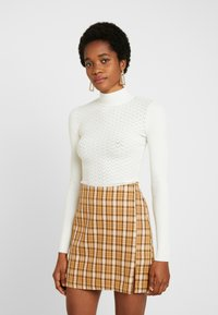 Fashion Union - CLUELESS SKIRT - A-Linien-Rock - yellow - 2