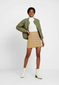 Fashion Union - CLUELESS SKIRT - A-Linien-Rock - yellow - 1