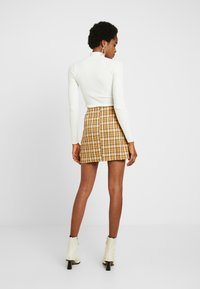 Fashion Union - CLUELESS SKIRT - A-Linien-Rock - yellow - 3