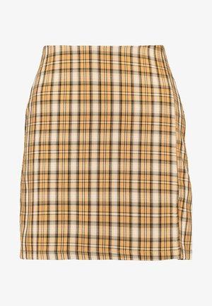 CLUELESS SKIRT - Áčková sukně - yellow