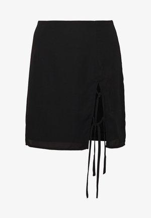 FLORINA - Minijupe - black