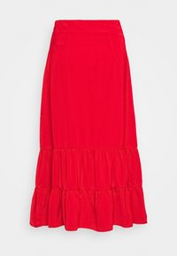 Fashion Union - GOLDY SKIRT - Áčková sukně - red - 1