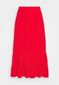 Fashion Union - GOLDY SKIRT - Áčková sukně - red - 0