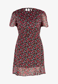 Fashion Union - ESTELLE - Robe d'été - red - 5