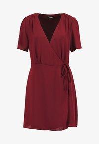 Fashion Union - LAVERNE - Robe d'été - burgundy - 3