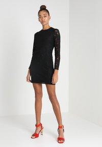 Fashion Union - HARLOTTE - Koktejlové šaty/ šaty na párty - black - 1