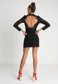 Fashion Union - HARLOTTE - Koktejlové šaty/ šaty na párty - black - 0
