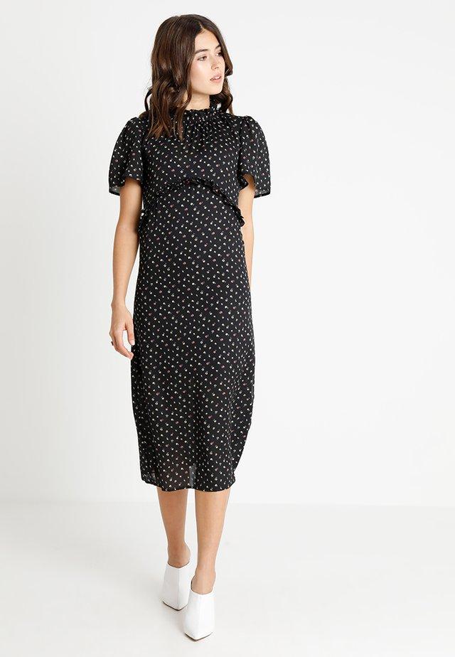 EXCLUSIVE GLENDA - Maxi šaty - black