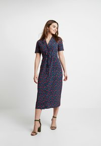 Fashion Union - WINE - Shirt dress - multi-coloured - 0