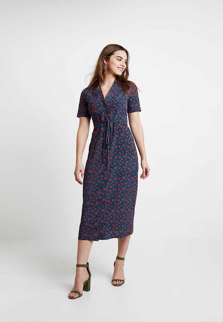 Fashion Union - WINE - Shirt dress - multi-coloured