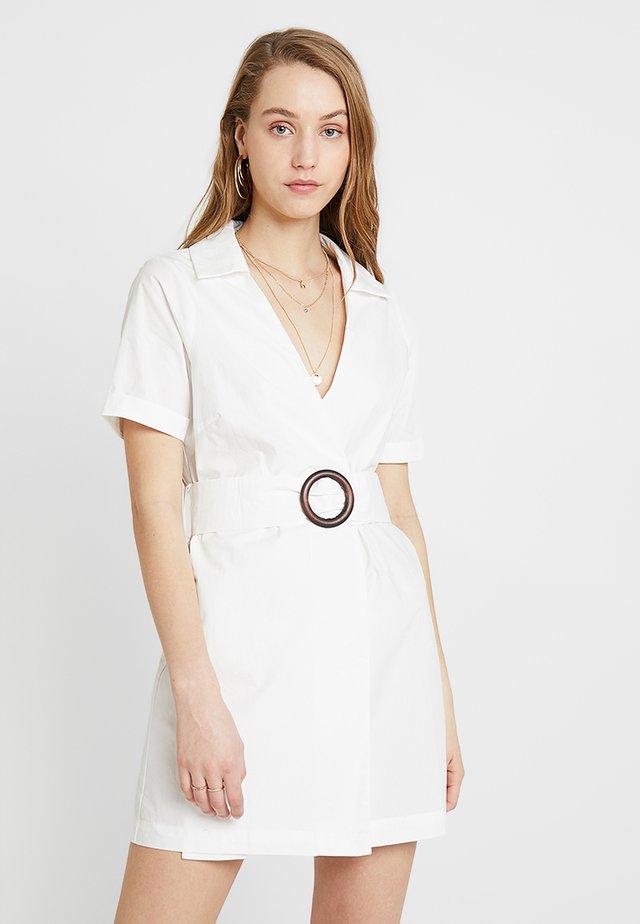 RAPPER - Denní šaty - white