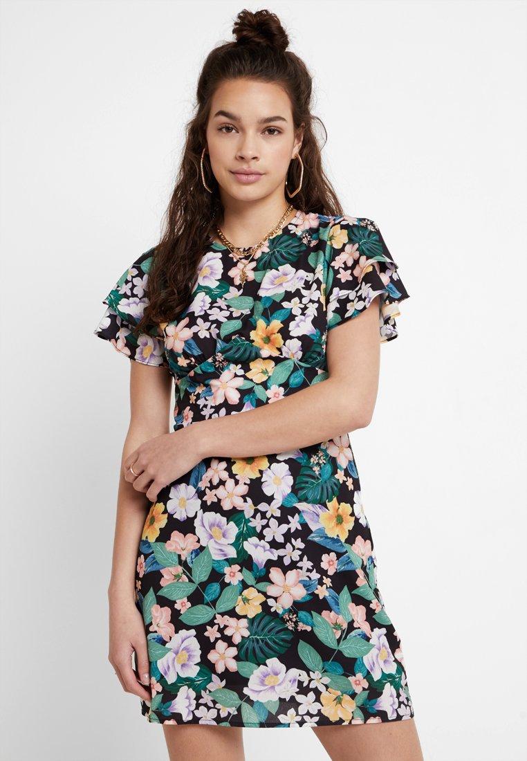 Fashion Union - POULARD - Vestido informal - tropical jungle