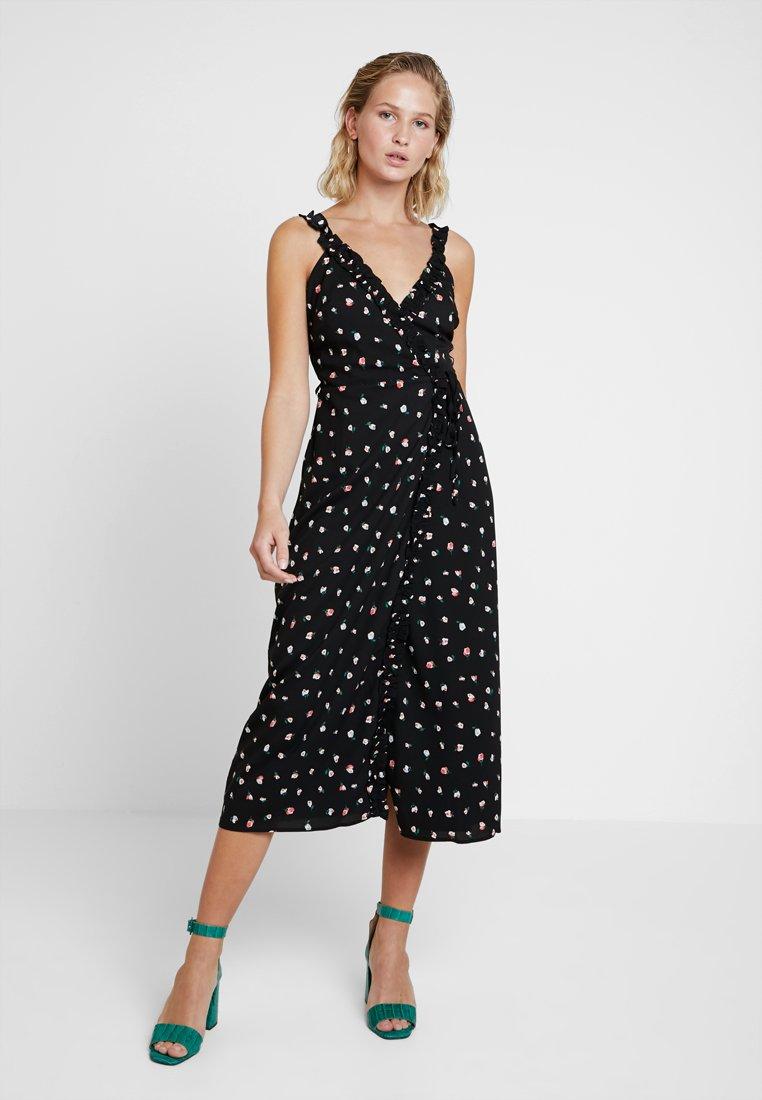 Fashion Union - MADAME - Vestido largo - black