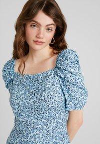 Fashion Union - EXCLUSIVE LILLE - Długa sukienka - blue - 4