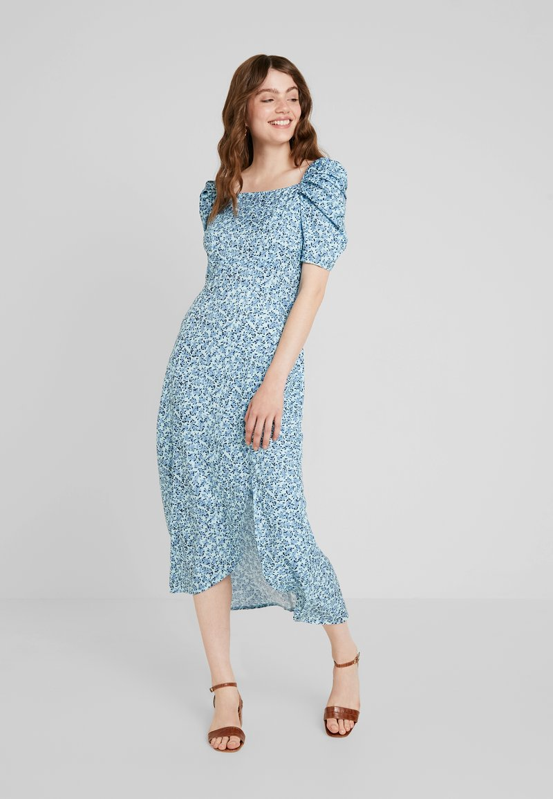 Fashion Union - EXCLUSIVE LILLE - Maxikleid - blue