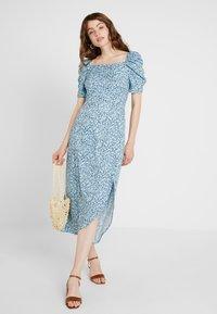 Fashion Union - EXCLUSIVE LILLE - Długa sukienka - blue - 2