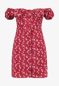 Fashion Union - CASSIE - Robe chemise - red base - 4