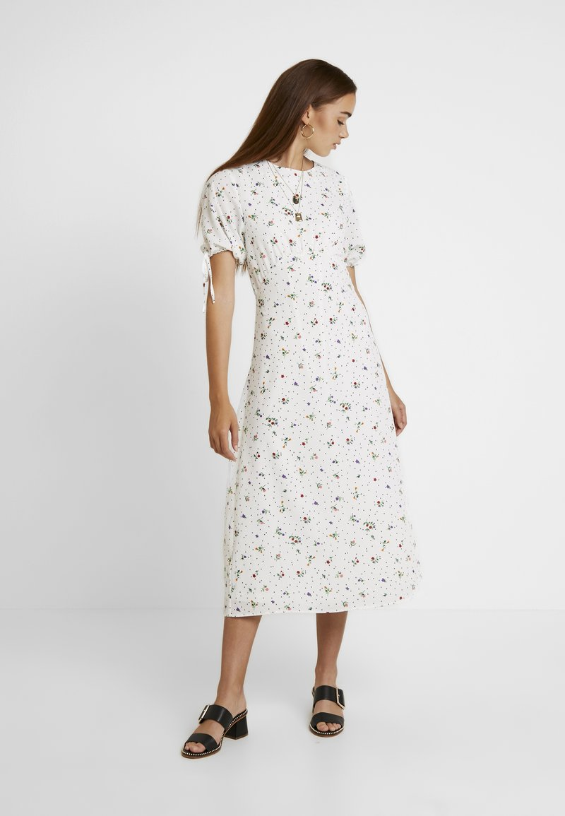 Fashion Union - MILLER - Maxi šaty - white