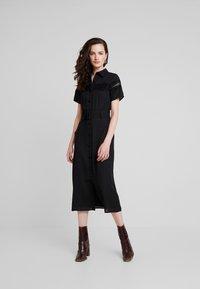 Fashion Union - MILK - Vestido informal - black - 0