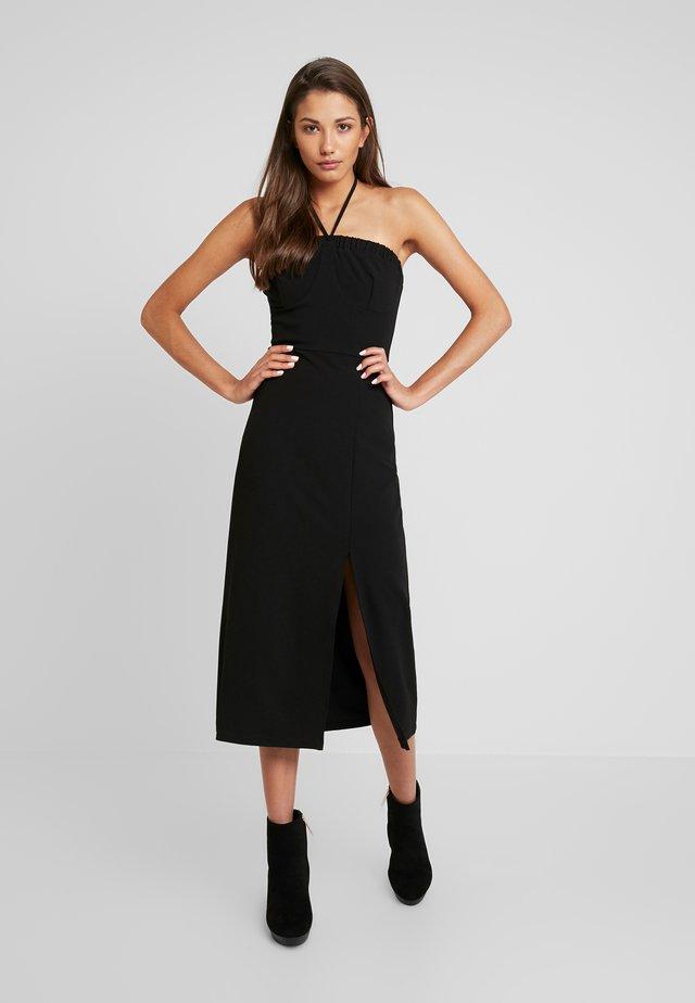 MARSHA - Žerzejové šaty - black