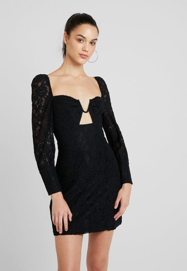 FRULIA - Vestito elegante - black