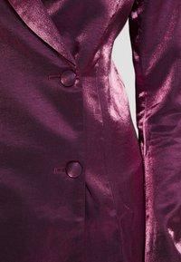 Fashion Union - LOREM - Denní šaty - plum - 6