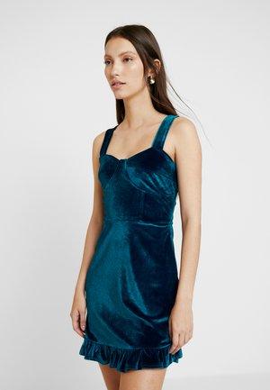 SINCERO - Žerzejové šaty - blue