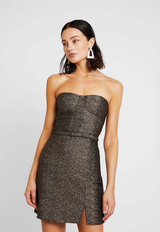 GISELLE - Koktejlové šaty/ šaty na párty - gold