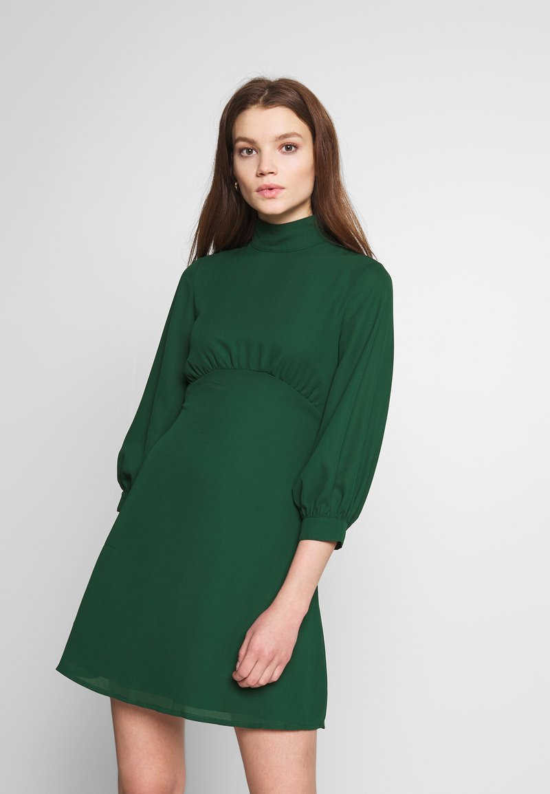 Fashion Union - CHARBAN - Denní šaty - forest green