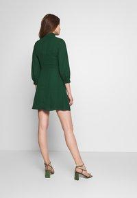 Fashion Union - CHARBAN - Denní šaty - forest green - 2