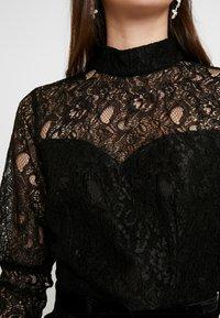 Fashion Union - MARGERINE - Vestido de cóctel - black - 4