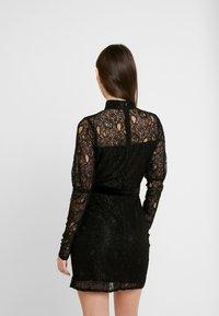 Fashion Union - MARGERINE - Vestido de cóctel - black - 2