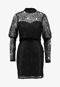 Fashion Union - MARGERINE - Vestido de cóctel - black - 3