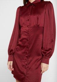 Fashion Union - LORD - Robe chemise - burgundy - 4