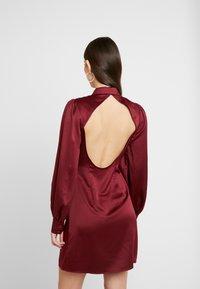 Fashion Union - LORD - Robe chemise - burgundy - 2
