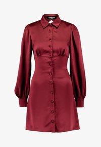 Fashion Union - LORD - Robe chemise - burgundy - 3