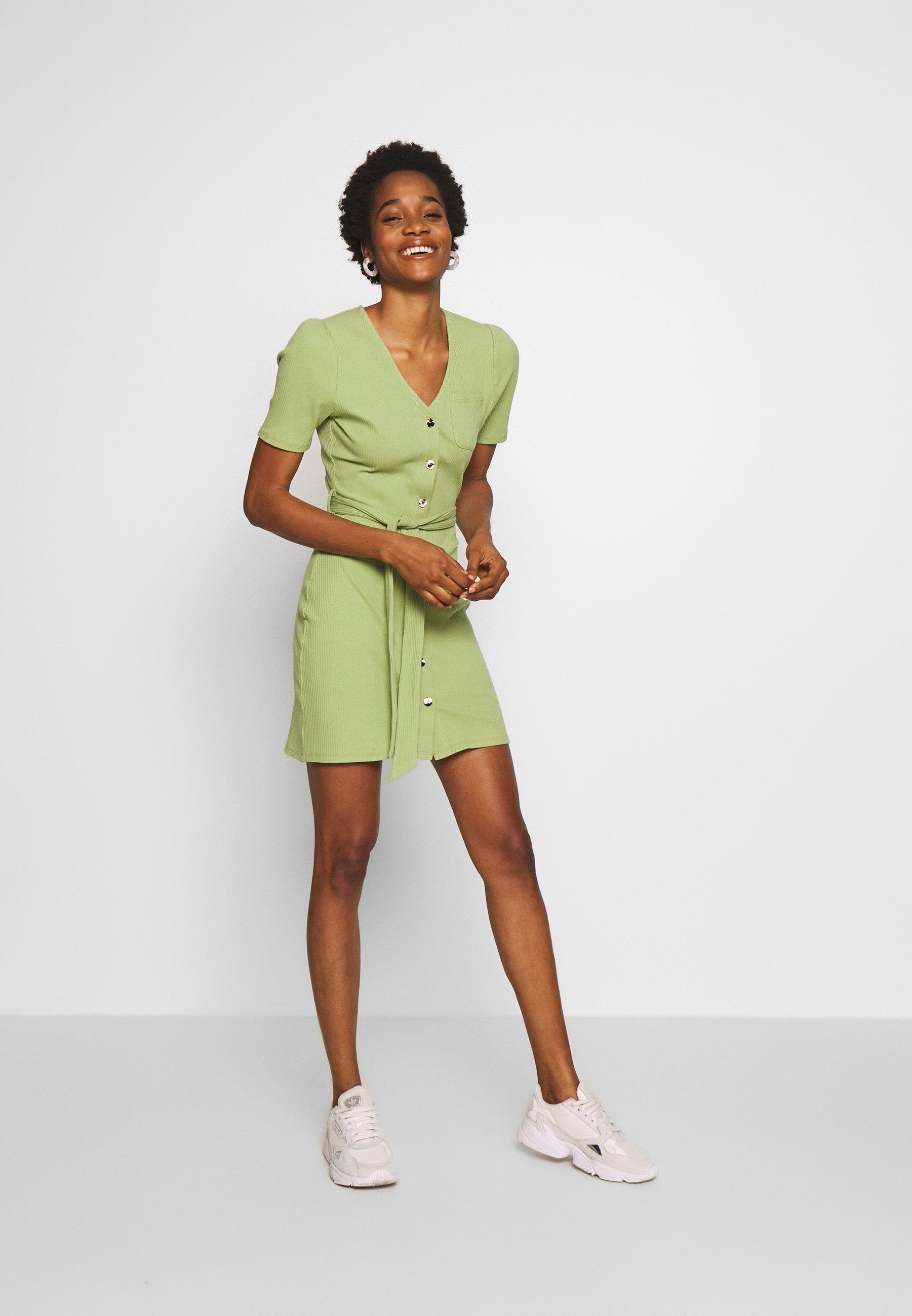 Fashion Union NOLLIE - Sukienka z dżerseju - green