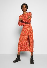 Fashion Union - FRANCE - Day dress - orange/yellow - 0