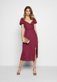 Fashion Union - COLLI VERSION - Robe d'été - plum - 1
