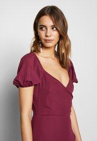 Fashion Union - COLLI VERSION - Robe d'été - plum - 3