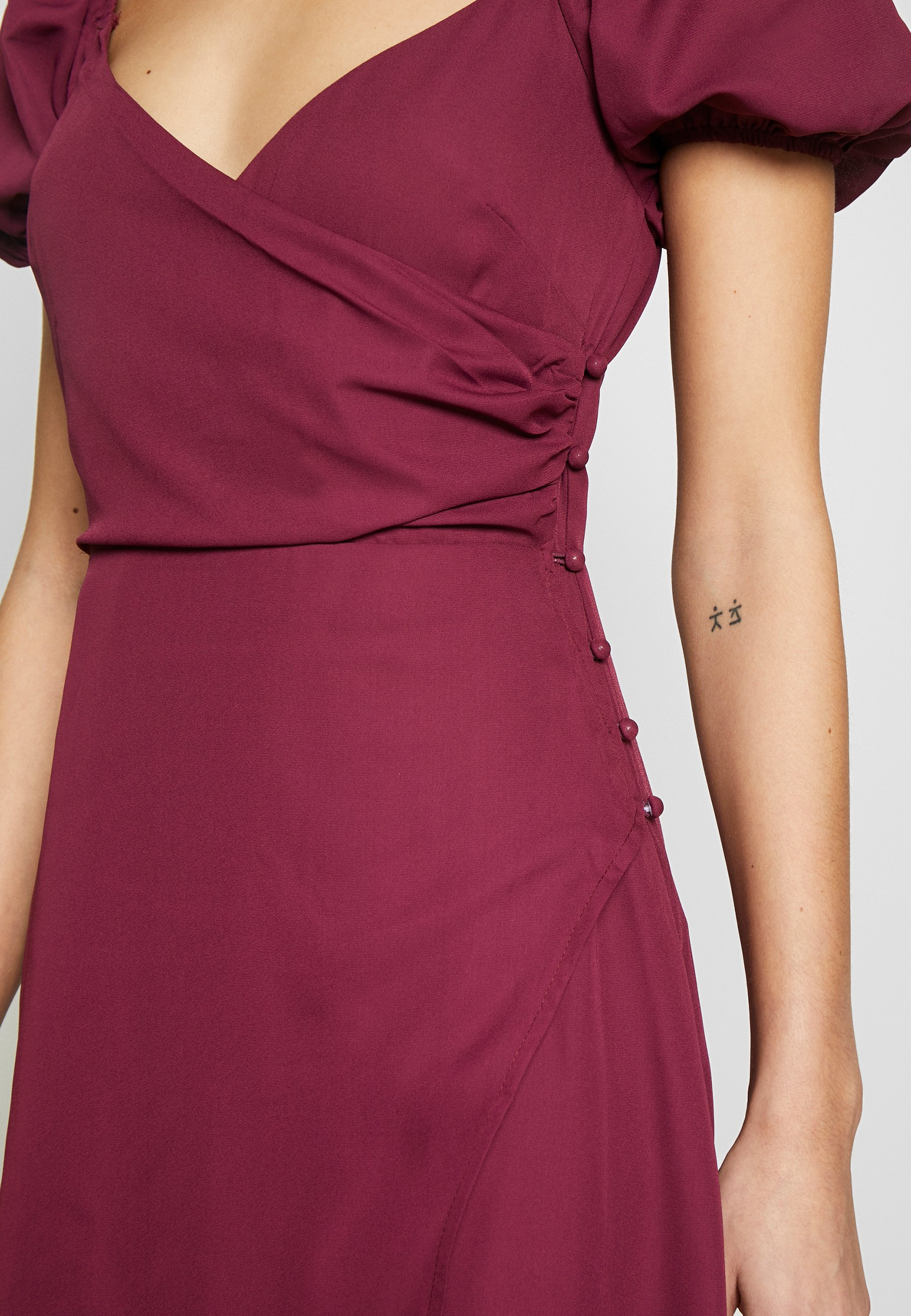Fashion Union COLLI VERSION - Sukienka letnia - plum