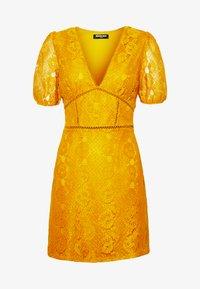 Fashion Union - LUCA - Vestido informal - yellow - 4