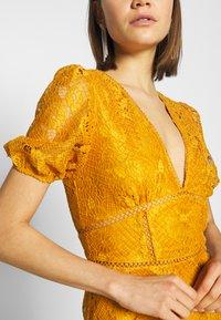 Fashion Union - LUCA - Vestido informal - yellow - 5
